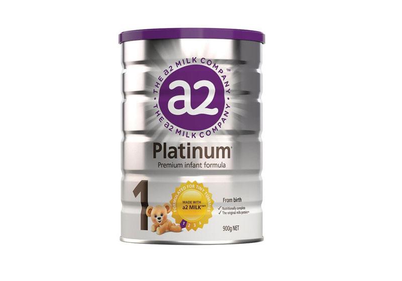 sữa A2 Úc Platinum số  1 dành cho trẻ sơ sinh từ 0 đến 6 tháng tuổi