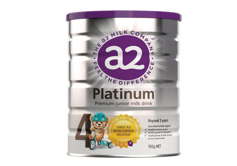 Sữa A2 Úc Platium số 4 cho bé từ 3 tuổi trở lên