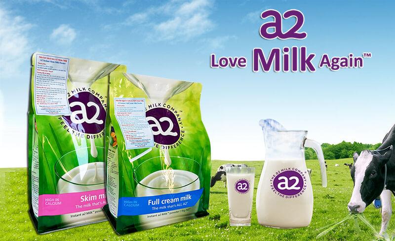 Sữa a2 Milk Full Cream