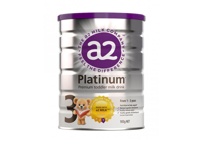 Sữa A2 Úc Platium số 3 cho bé 1 đến 3 tuổi