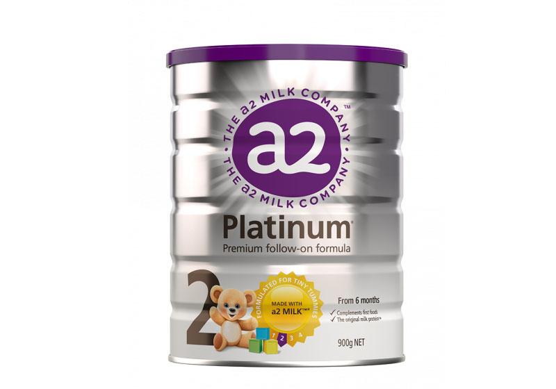 Sữa A2 Úc Platium số 2  cho bé từ 6 đến 12 tháng tuổi