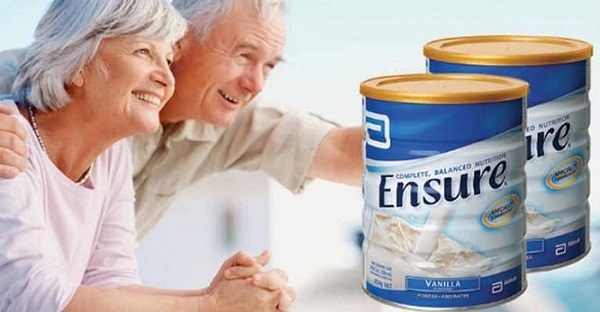 Sữa Ensure úc dành cho người già