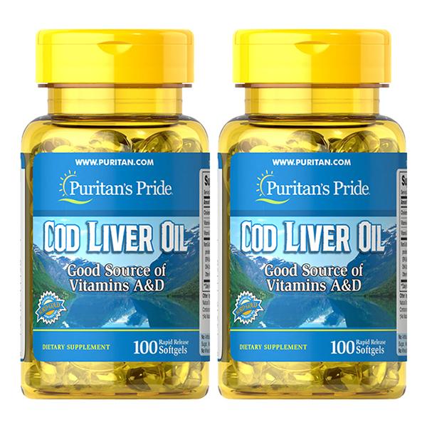 Dầu gan cá tuyết Cod Liver Oil