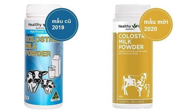Sữa bò non Healthy Care Úc