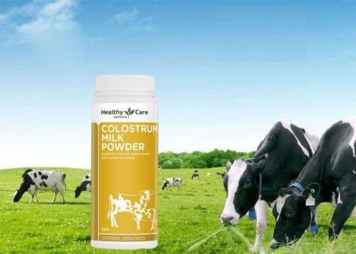100% sữa bò non nguyên chất