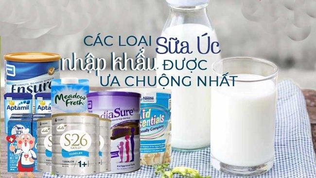 Sữa Úc chính hãng