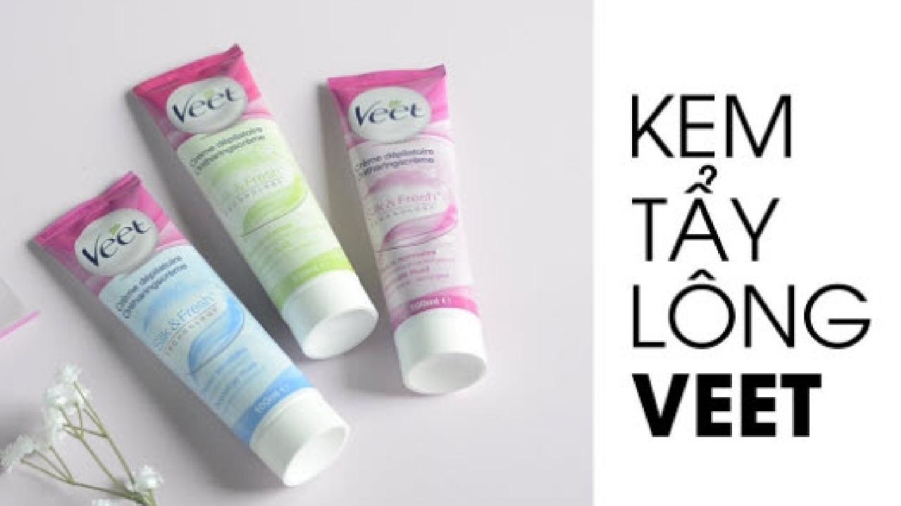 Kem tẩy lông Veet có tẩy được lông nách không?