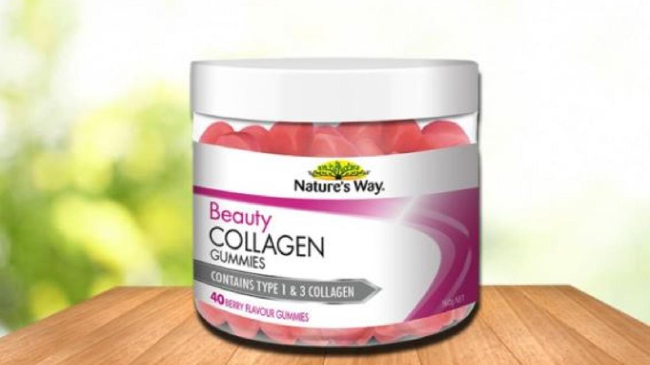 Viên nhai Collagen Nature's Way Úc - Bí quyết duy trì làn da tươi trẻ