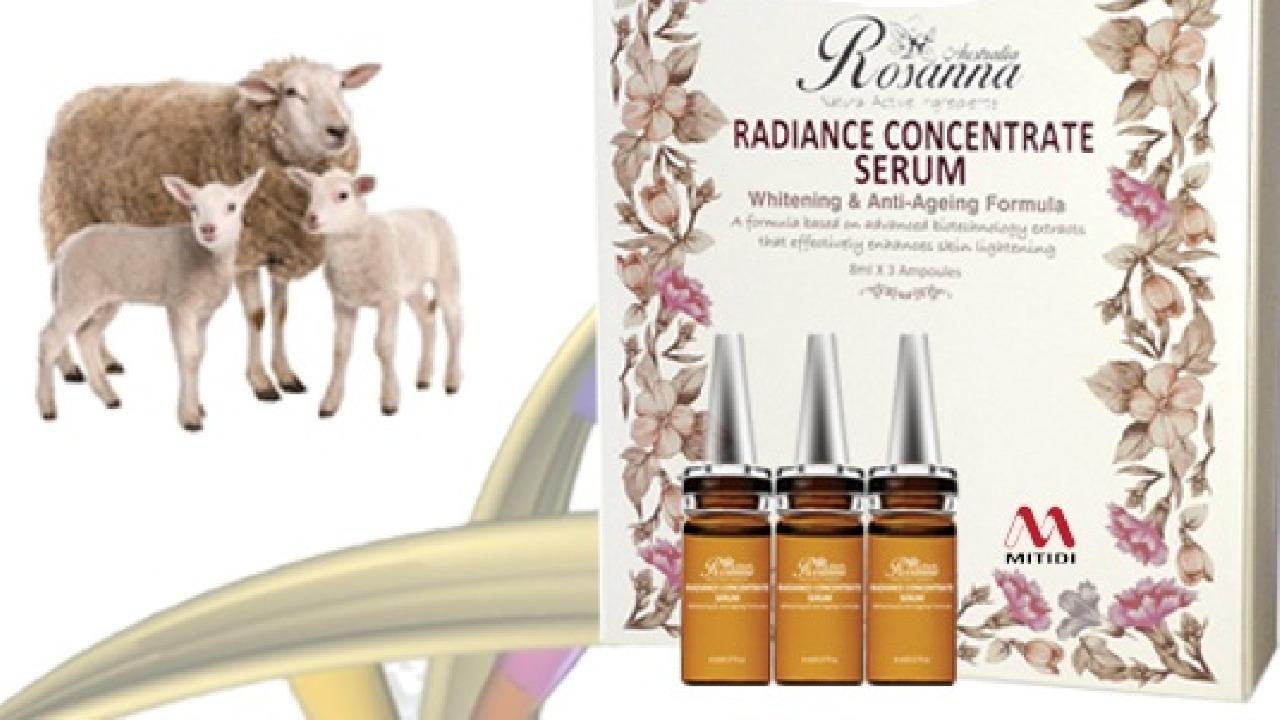 Tinh chất trắng da Rosanna Radiance nhau thai cừu có tốt không?