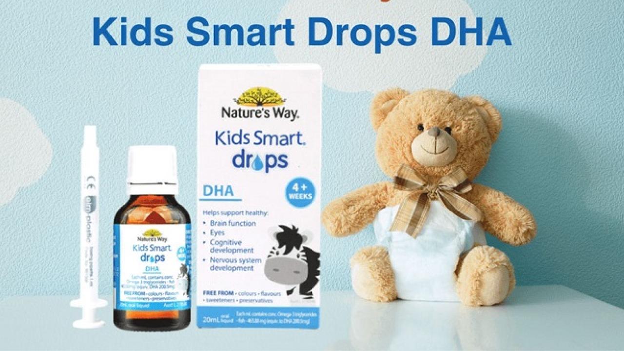 DHA Nature's Way Kids Smart Drop 20ml có tốt không?