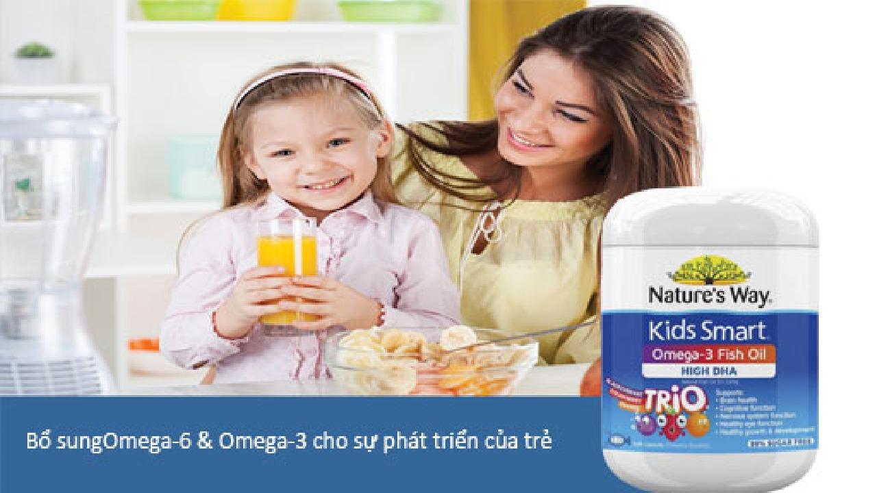 Vai trò của Omega-6 và Omega-3 đối với chế độ ăn uống của trẻ