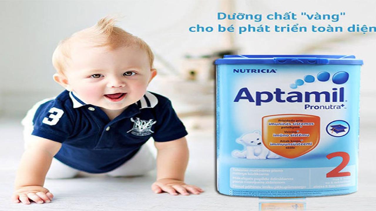 Sữa Aptamil Úc số 1, 2, 3, 4 những thông tin các Mẹ cần biết.