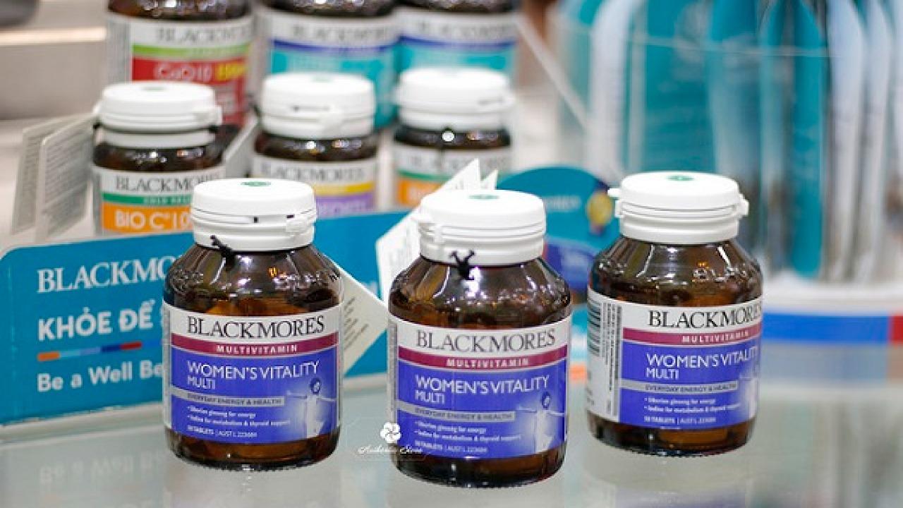 Vitamin tổng hợp Blackmore có tốt không? Gồm những loại nào?