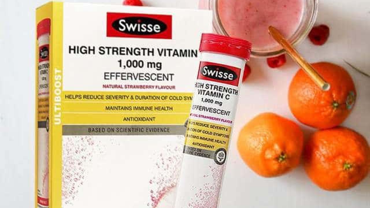 Viên sủi Swisse Úc High Strength Vitamin C 1000mg có tốt không?