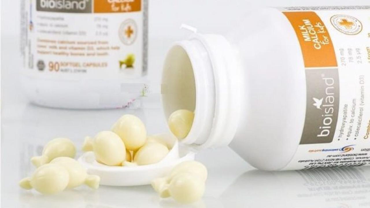 Đánh giá: Canxi Bio Island Milk Calcium For Kids