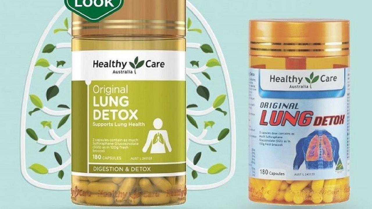 Công dụng của viên thải độc phổi Healthy Care Original Lung Detox