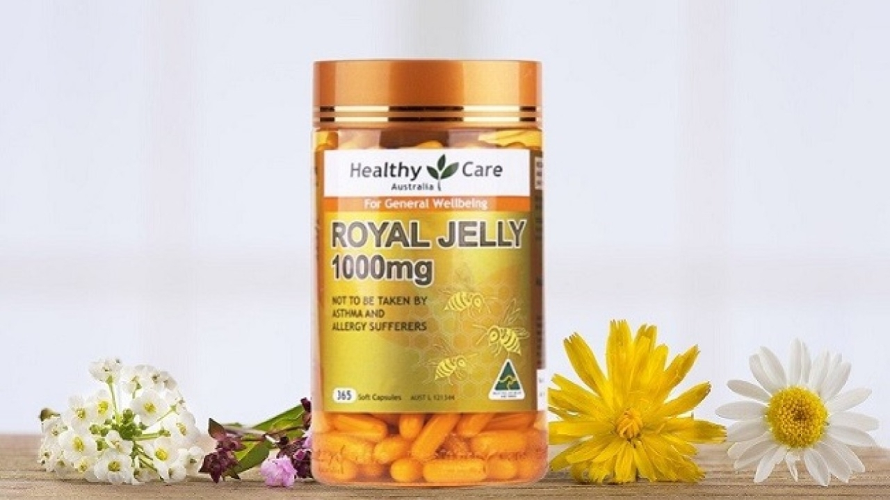 Review: Sữa ong chúa Healthy Care Royal Jelly 1000mg