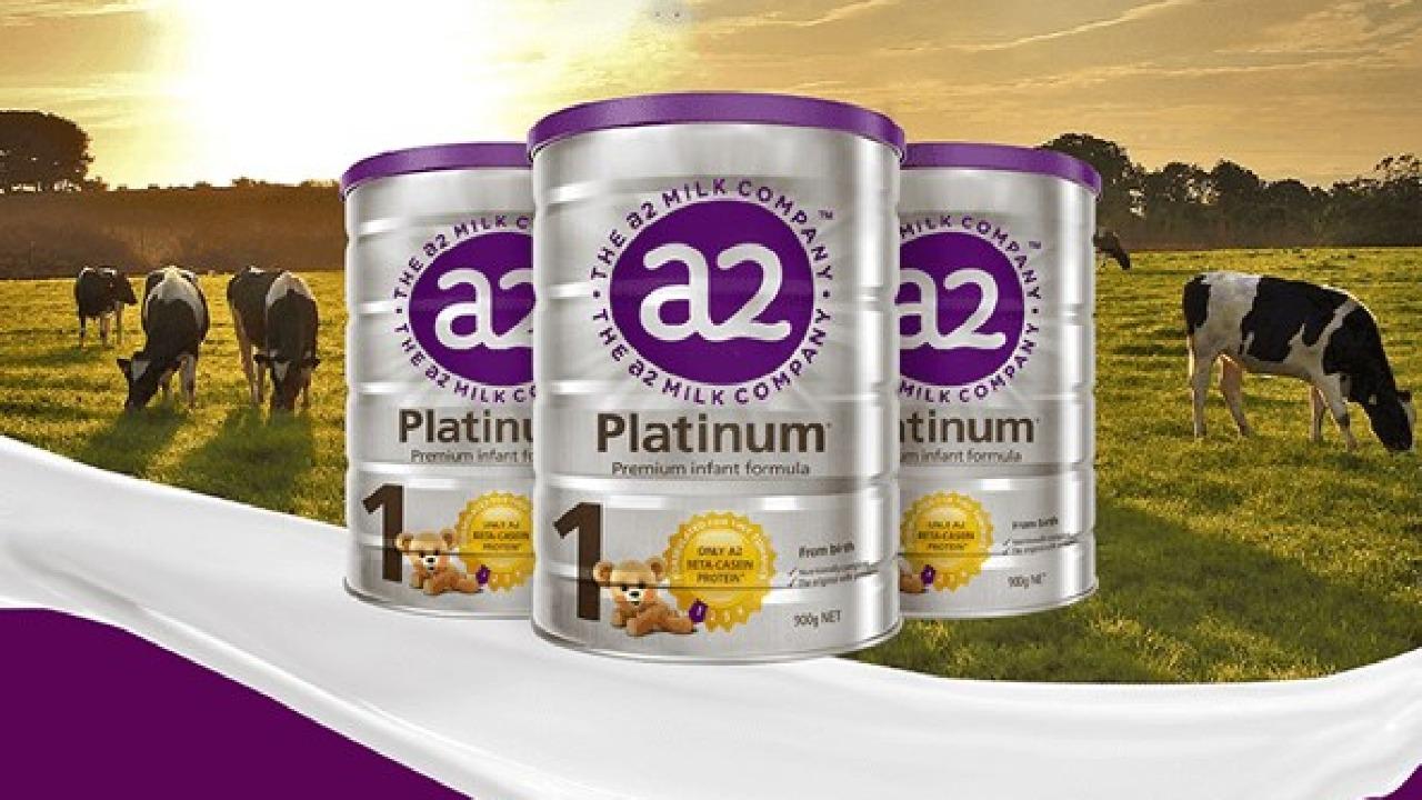 Sữa A2 Platinum số 1 dinh dưỡng cho trẻ từ 0 đến 6 tháng tuổi