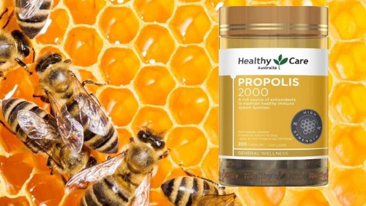 Viên uống keo ong Healthy Care có tốt không? Công dụng ra sao?