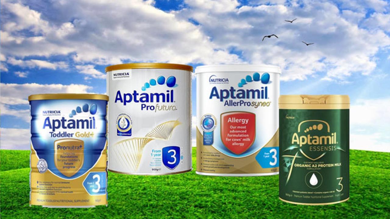 Sữa Aptamil Úc số 3 có tốt không? Đặc điểm và công dụng?