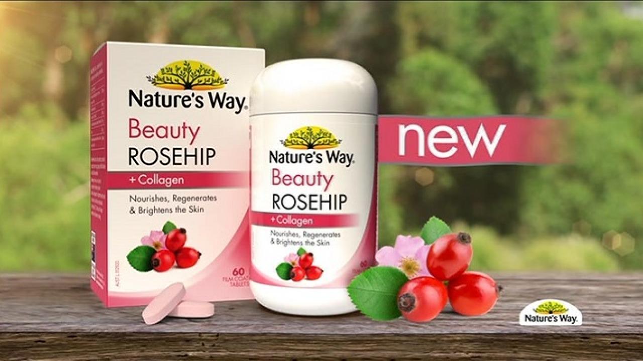 Review viên uống trắng da Nature's Way Beauty Collagen đến từ Úc