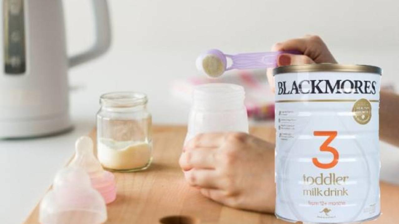 Cách pha sữa Blackmores số 3 thơm ngon, giữ trọn dinh dưỡng