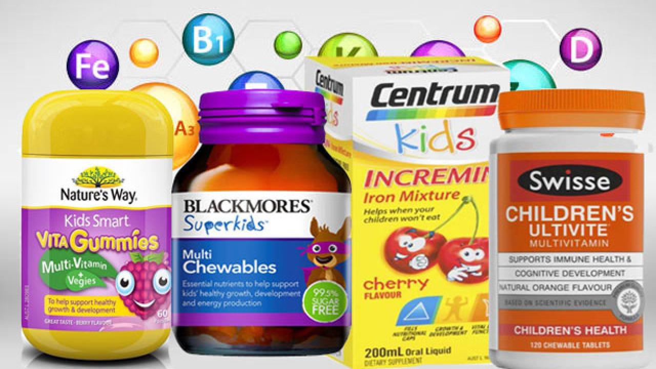 Vitamin tổng hợp Úc cho bé tốt nhất hiện nay mà bạn nên biết