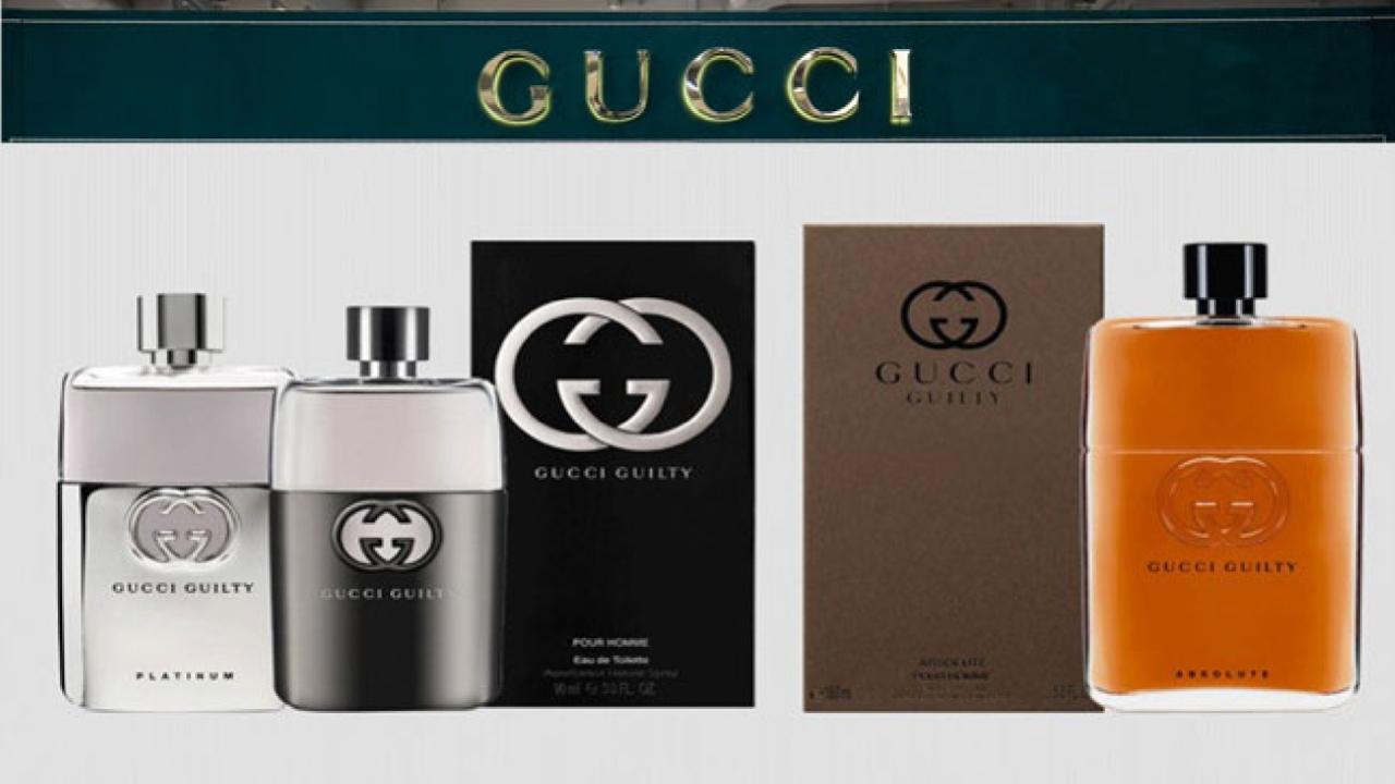 Top 5 nước hoa Gucci nam mang hương thơm nam tính nhất