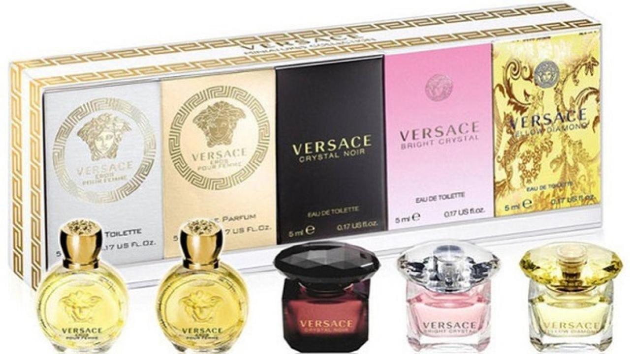 Top 5 nước hoa Versace nữ quyến rũ được yêu thích nhất
