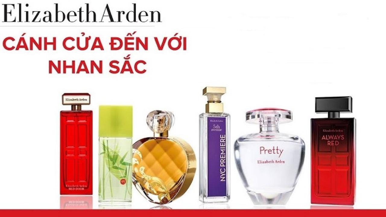 Top 5 nước hoa Elizabeth Arden được ưa chuộng nhất