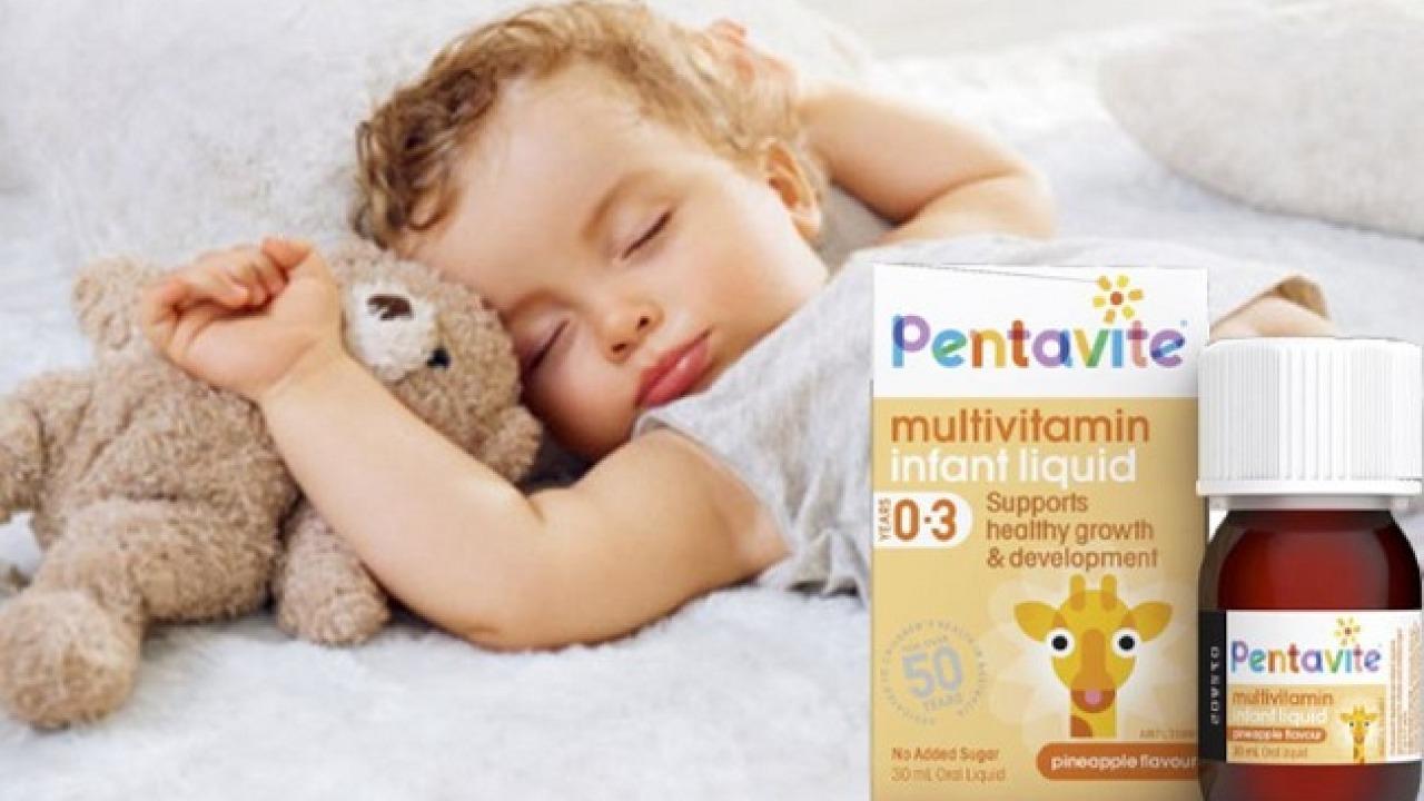 Vitamin tổng hợp Pentavite cho trẻ từ 0-3 tuổi có tốt không?