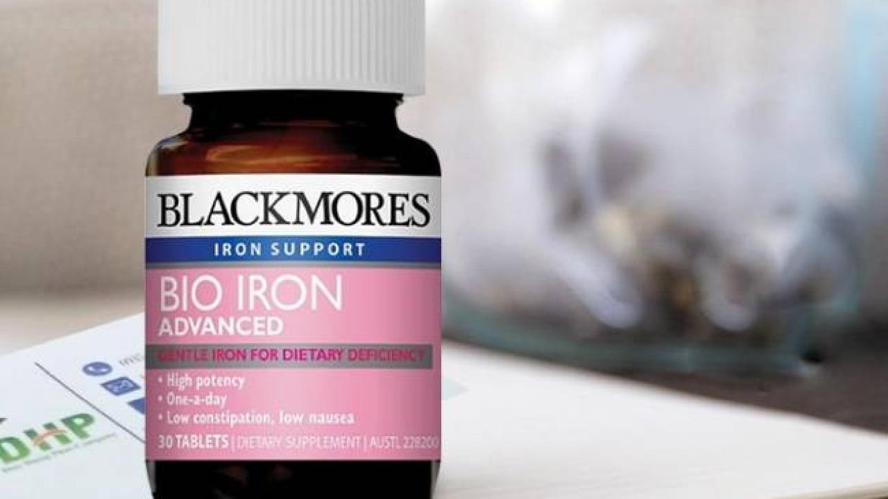 Review Viên sắt Blackmores Bio Iron Advanced 30 viên của Úc