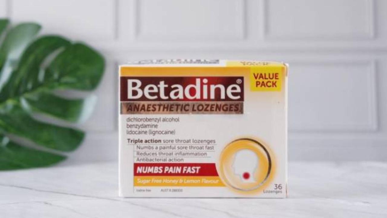 Review viên ngậm trị đau họng Betadine nhập khẩu Úc