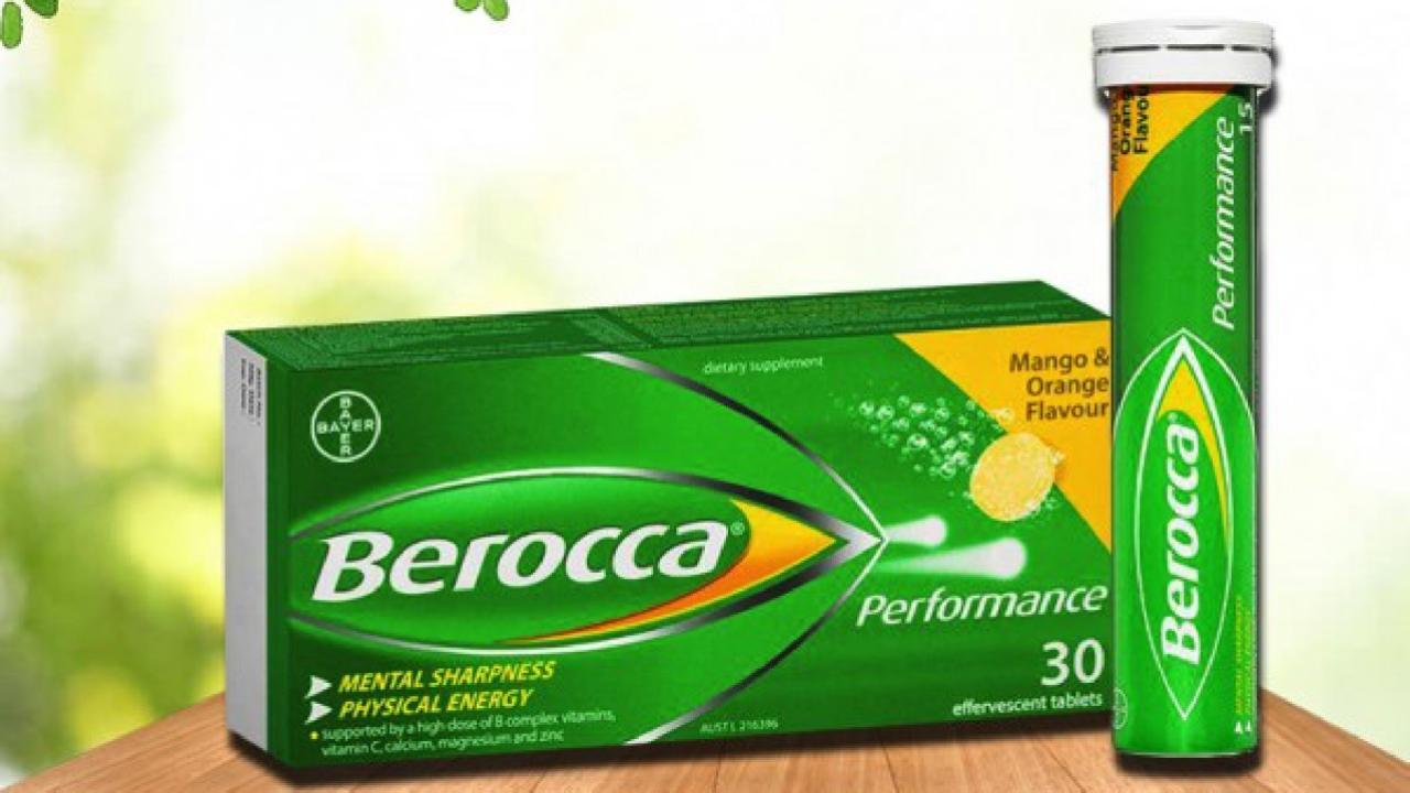 Review: Viên sủi Berocca có tốt như lời đồn hay không?
