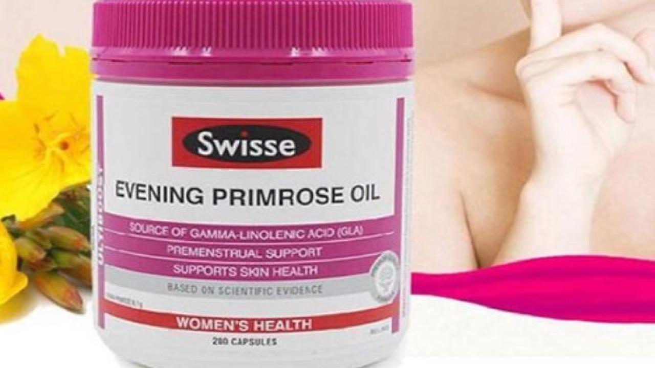 Review tinh dầu hoa anh thảo Swisse UltiBoost Evening Primrose Oil