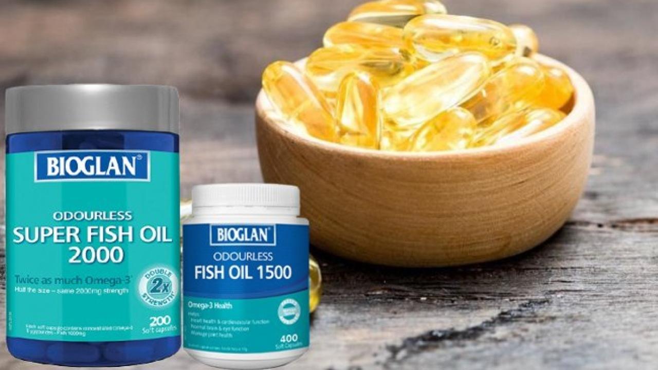 Dầu cá Bioglan có tốt không? Có bao nhiêu loại trên thị trường?