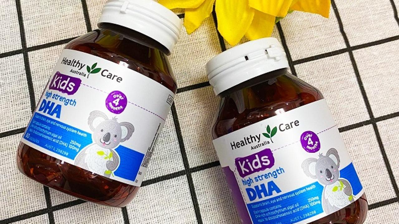 Viên uống bổ sung DHA Healthy Care có tốt không?