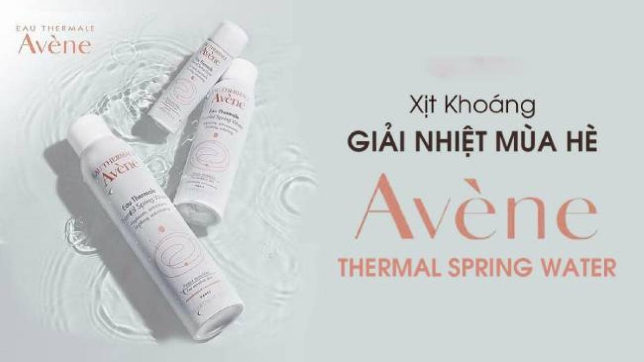 Đánh giá xịt khoáng Avene Themal Spring Water có tốt không?