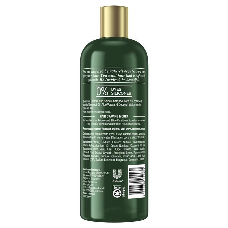 Tresemme Botanique Restore & Shine Shampoo 675ml