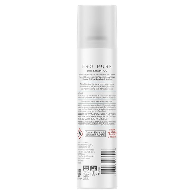 Tresemme Propure Cleanse Dry Shampoo 250ml