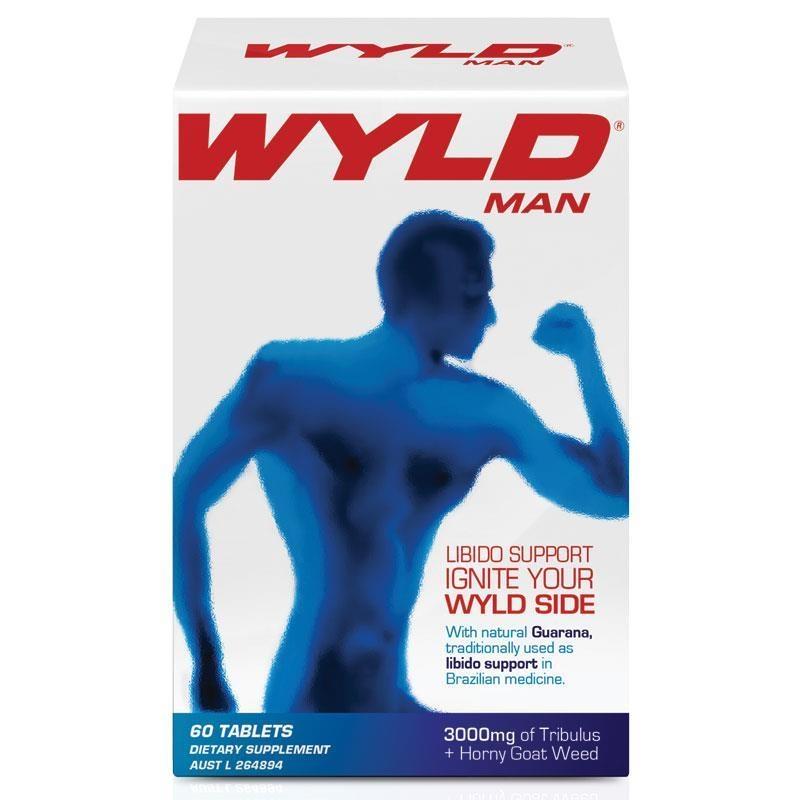 Wyld For Men 60 Tablets