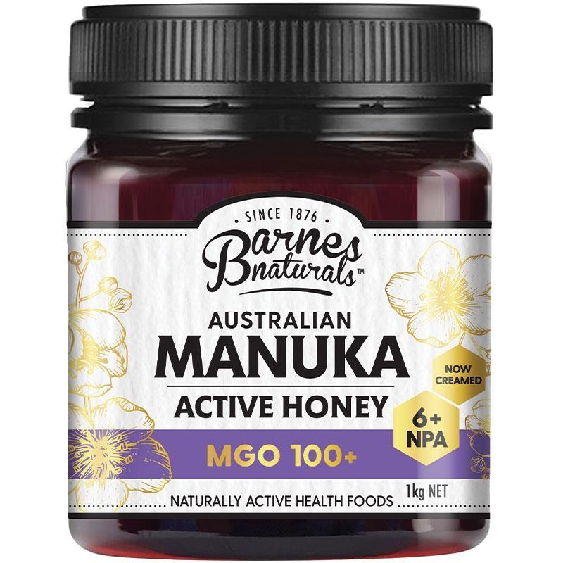 Barnes Naturals Australian Manuka Honey 1kg MGO 100+