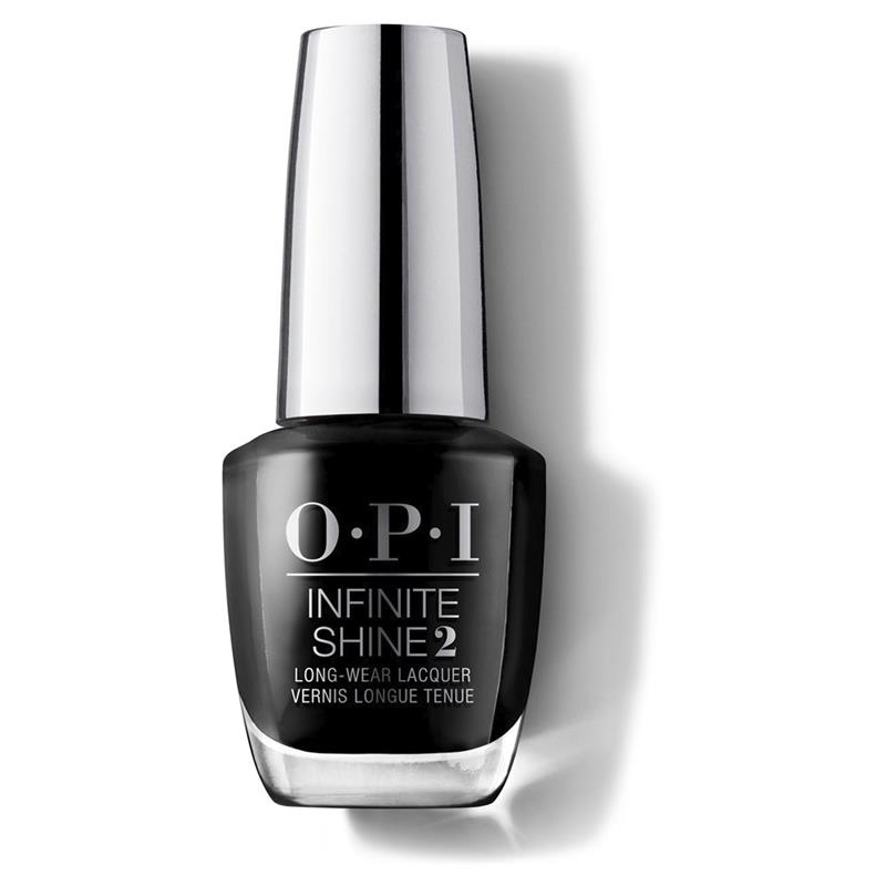OPI Nail Lacquer Infinite Shine Black Onyx Online Only