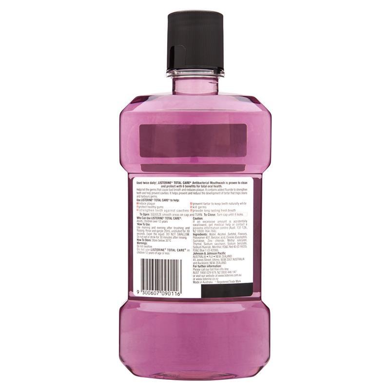 Listerine Total Care Mouthwash 1 Litre