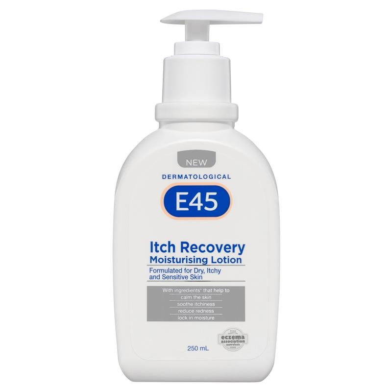 Sữa dưỡng thể E45 Itch Recovery Lotion 250ml