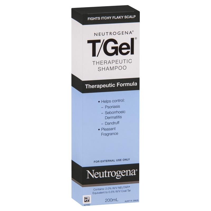 Dầu gội trị gàu eutrogena T/Gel Therapeutic Shampoo 200mL