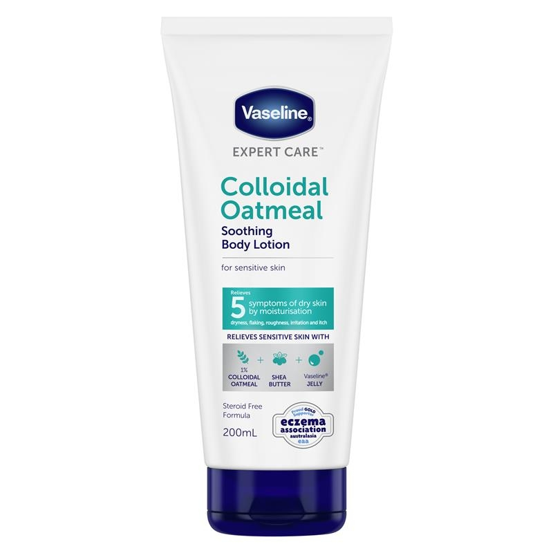 Vaseline Expert Care Colloidal Oatmeal Soothing Body Lotion 200ml