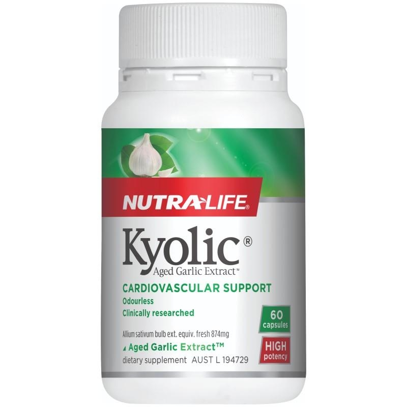 NutraLife Kyolic Aged Garlic Extract 60 Capsules