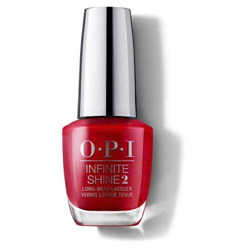 OPI Nail Lacquer Infinite Shine Big Apple Red Online Only