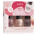 OPI Nails To Dry For Xmas Gift Set Featuring Bubble Bath CWH Exclusive